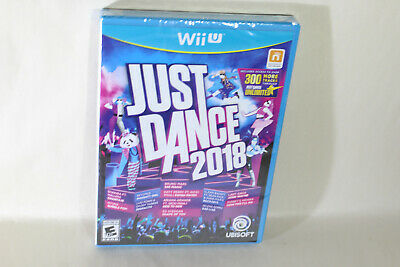 Just Dance 2018 (Nintendo Wii U, 2017) Game Complete Brand NEW Factory SEALED !