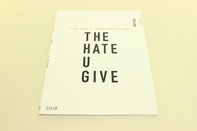 THE HATE U GIVE (DVD 2018 SCREENER) AMANDLA STENBERG Four Your Consideration FYC
