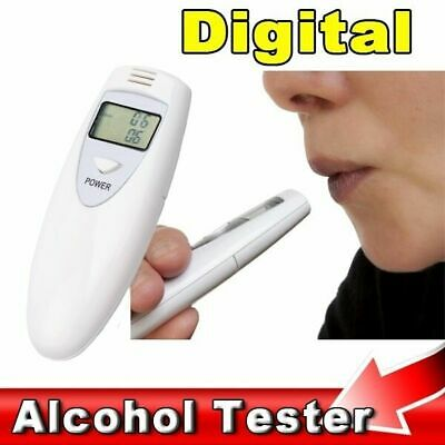 Digital Portable MINI LCD Digital Alcohol Breath Tester Analyzer Breathalyzer w