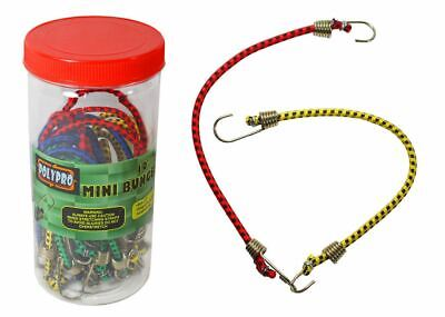 20 Piece Mini Bungee Cords (Pack of: 1) - TA-08509