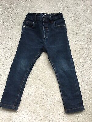 Next Baby Boys Dark Blue Jeans Size 18 - 24 Months £16