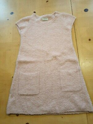 NEXT Girl's Pink Jumper Dress Size 7 - 8 Years