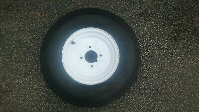 5.00 x 10 spare trailer wheel and tyre