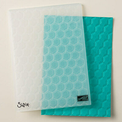 Stampin' Up! Hexagons Dynamic Textured Impressions Embossing Folder - New