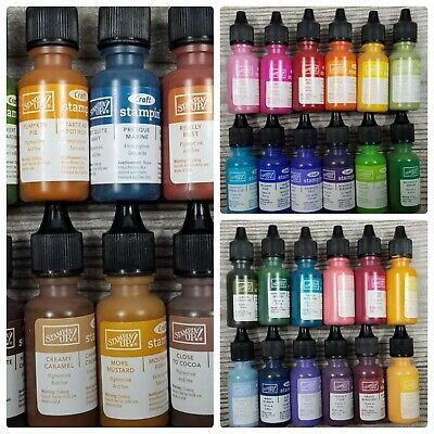 SEALED Stampin Up! CRAFT Ink Refill Reinker PIGMENTED Bottle CHOOSE YOUR COLOR