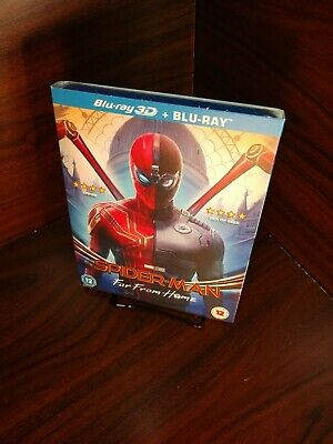 Spider-Man: Far From Home (3D+Blu-ray) Slipcover-NEW (Sealed)Free S&H w/Tracking