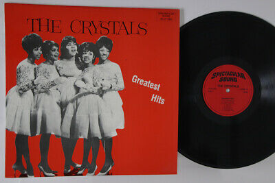 LP CRYSTALS Greatest Hits LPSS4200 SPECTACULAR SOUND ITALY Vinyl