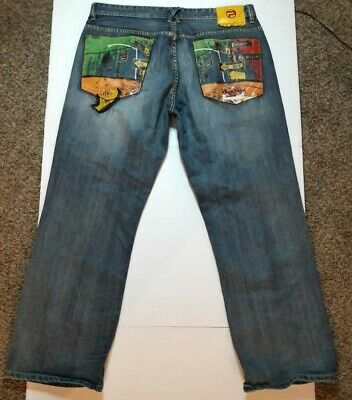 PEPE JEANS LONDON Vintage Super Baggy Jean Embroidered Mens