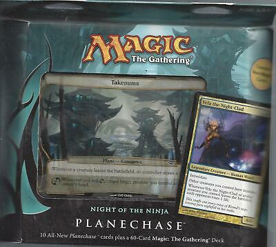 MTG Magic the Gathering   English Planechase 2012 Night of the Ninja  New Sealed