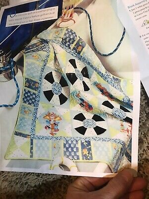 """CRUSIN"" QUILT KIT  35.25 By 35.25"