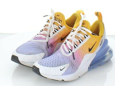 NIKE AIR MAX 270 White University Red Women's Shoes Size 7,8
