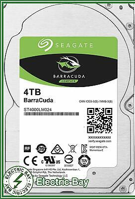 "Seagate BarraCuda 4TB 2.5"" SATA Internal Hard Disk Drive HDD 5400RPM 128MB"