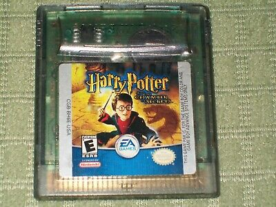 Harry Potter and the Chamber of Secrets (Nintend Game Boy Color) GBC RPG