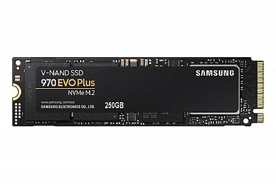 SAMSUNG 970 EVP PLUS NVMe M.2 SSD 3500MB/s Read 250GB SOLID STATE DRIVE NEW AU A