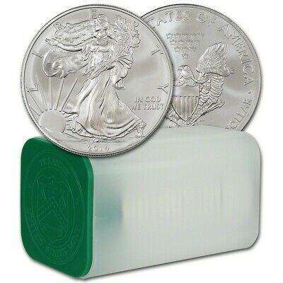 4 COINS!!! 2014 SILVER AMERICAN EAGLE 1 oz SAE ROUNDS from ORIGINAL MINT ROLL!!!