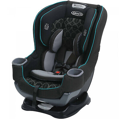 NEW Graco Extend2Fit Convertible Car Seat, Valor Black