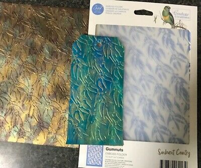 Gumnuts Sunburnt Country Embossing Folder 5x7 Couture Creations