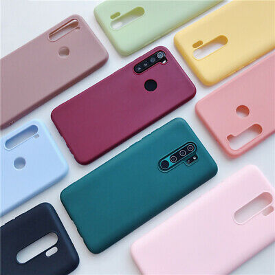 For Xiaomi Redmi Note 8 7 6 5 Pro 8A Mi 9 8 A2 Soft Rubber Matte TPU Case Cover