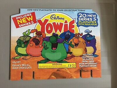 Yowie Series Backboards X6 Rare