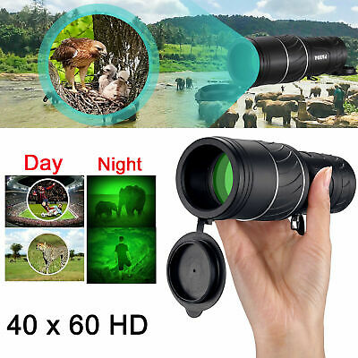 Day Night Vision 40X60 HD Hunting Binoculars Optical Telescope Handheld Scope US
