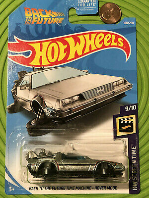 2019 Hot Wheels  Super Treasure Hunt  Back To The Future Time Machine Hover Mode
