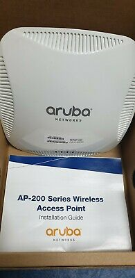 ARUBA IAP-205-RW 802 11AC Wireless Access Point + Wall