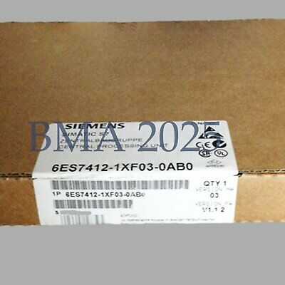 1PC New in box SIEMENS 6ES7 412-1XF03-0AB0 6ES74121XF030AB0 DHL free shipping