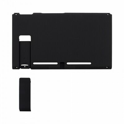 Housing shell for Nintendo Switch console back plate soft touch Black | ZedLabz