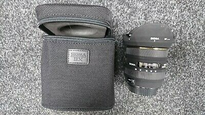 Sigma EX lens 10-20mm 1:4-5.6 DC hsm canon fit