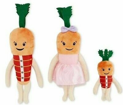 Kevin The Carrot Official 2019 Christmas Children Chantenay, Baby, Jasper