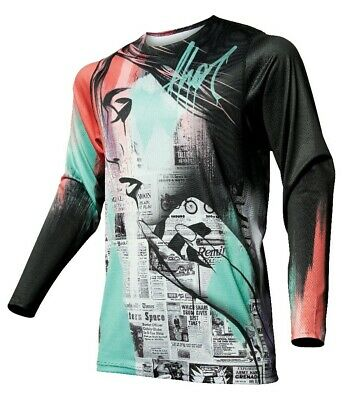 Thor Prime Pro Headlined Multicoloured MX Motocross Offroad Race Jersey Adults