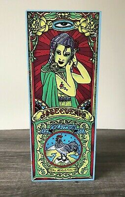 2011 JOSE CUERVO TEQUILA COLLECTOR BOX - Art By Dr Lakra - VGUC - 2 Available