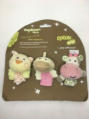 Spook Daydream Farm  finger puppet new (damage packaging)