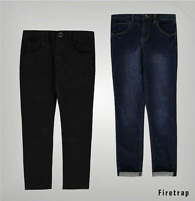 Boys Firetrap Regular Soft Breathable Skinny Jeans Sizes from 5 to 13