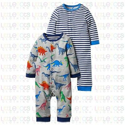 Mini Boden Baby Twin or 2 Pack Dino Sleepsuit Romper RRP £35 0 - 18/24Months