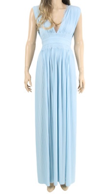 ASOS ROYAL BLUE PLEATED MAXI DRESS 060//062