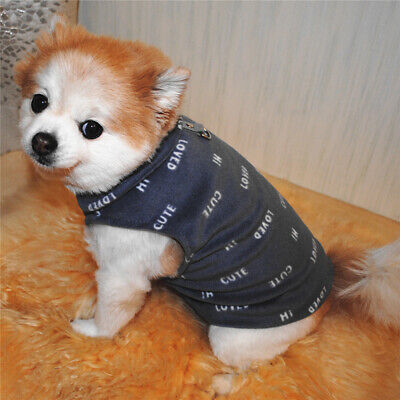 Dog Vest Pet Dog Clothes For Small Dogs Clothing for Dogs Coat Puppy Pet Clothes