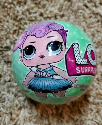 LOL SURPRISE! Series 2 Wave 2 BIG SISTER DOLL Ball MISS PUNK Packaging 46217WFE