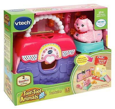 Vtech - Toot-Toot Animals PET SALON - 25+ Songs, Sounds & Phrases - NEW