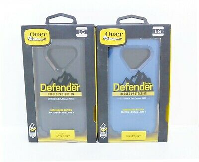 New OEM OtterBox Defender Series Case For LG V40 ThinQ (with Holster/Clip)