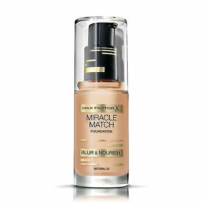 Max Factor Foundation Miracle Match Blur & Nourish - WE  soft Honey 77 & NATURAL