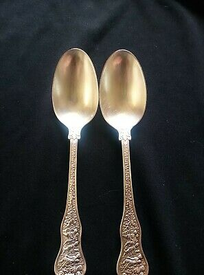 2 Tiffeny & Co. Olympian Sterling Silver Teaspoons