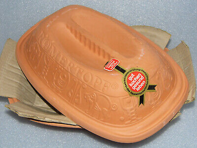 Vintage Romertopf Model 111 Clay Terracotta Oven Dish Cooker Made West Germany