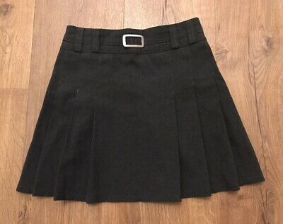 Marks And Spencer's Girls Grey School Skirt Age 7