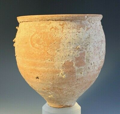 Ancient Holy Land Terra-Cotta Bowl; Late Roman 100 Bc-200 Ad; From Petra Area!