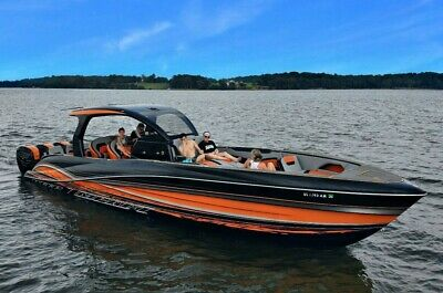 2019 Deep Impact 399 Sport Quad Mercury Racing 400R Smd Paint One Of A Kind Rare