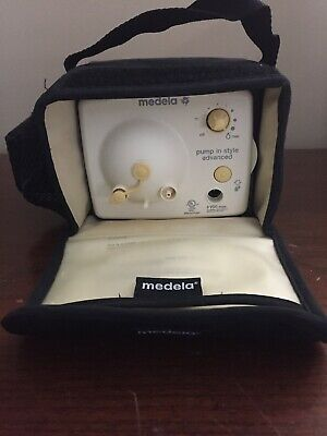 Medela-Pump-In-Style Advanced Double Electric Breast Pump with Adapter EUC!