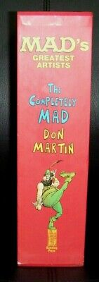 Mad's Greatest Artists The Completely Mad Don Martin Vol 1 & 2 H/C Boxed Set