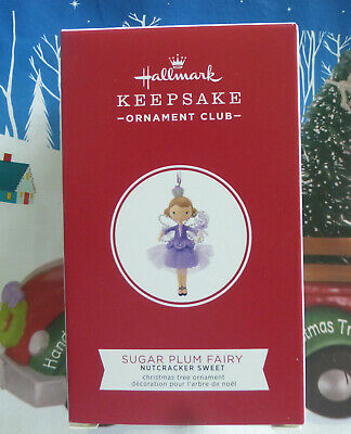 Hallmark Keepsake Sugar Plum Fairy, Nutcracker Sweet, KOC Ornament Club, 2019