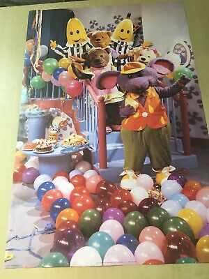 vintage 1996 Bananas In Pyjamas Large Poster
